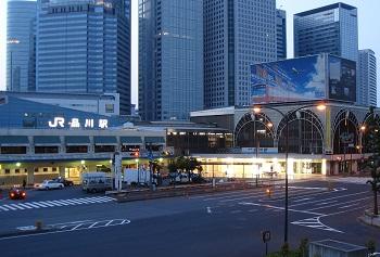 プリンス系のホテルが品川駅前には立ち並びます
